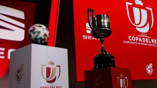Sorteo de la primera eliminatoria de la Copa del Rey.