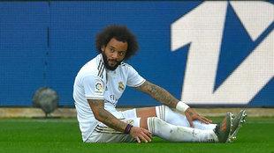 Marcelo, durante un partido de esta temporada.