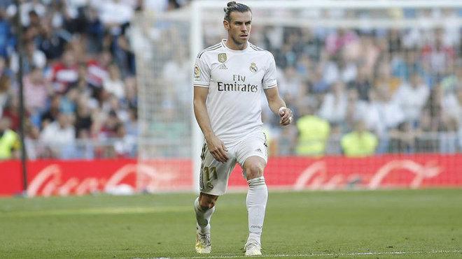 Bale, durante un partido de la presente temporada