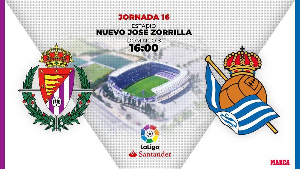 Valladolid - Real Sociedad: horario y dónde ver por television hoy el...