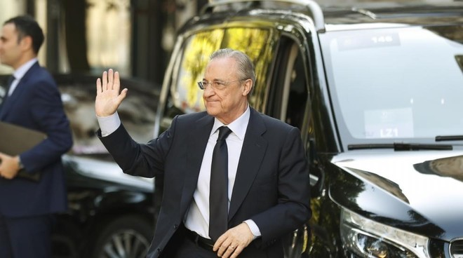 Florentino Perez at The Best gala.