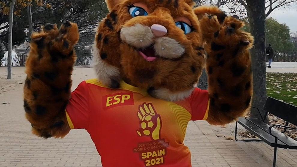 La lince Lola, mascota del Mundial femenino de España en 2021 /