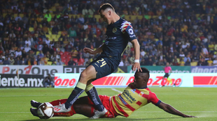 América y Monarcas protagonizaron un intenso partido en el Morelos.