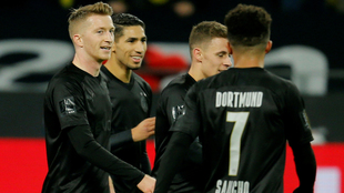 Festín del Dortmund ante el Fortuna Düsseldorf.