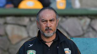 Gutiérrez en un partido de Potros UAEM.