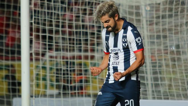 Pizarro celebra una anotación.