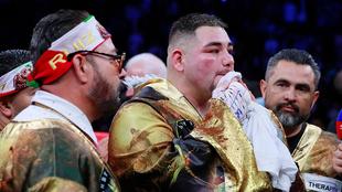Ruiz, tras perder los cetros pesados ante Anthony Joshua.