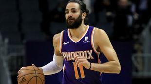Ricky Rubio volvió a dirigir el ataque de los Phoenix Suns