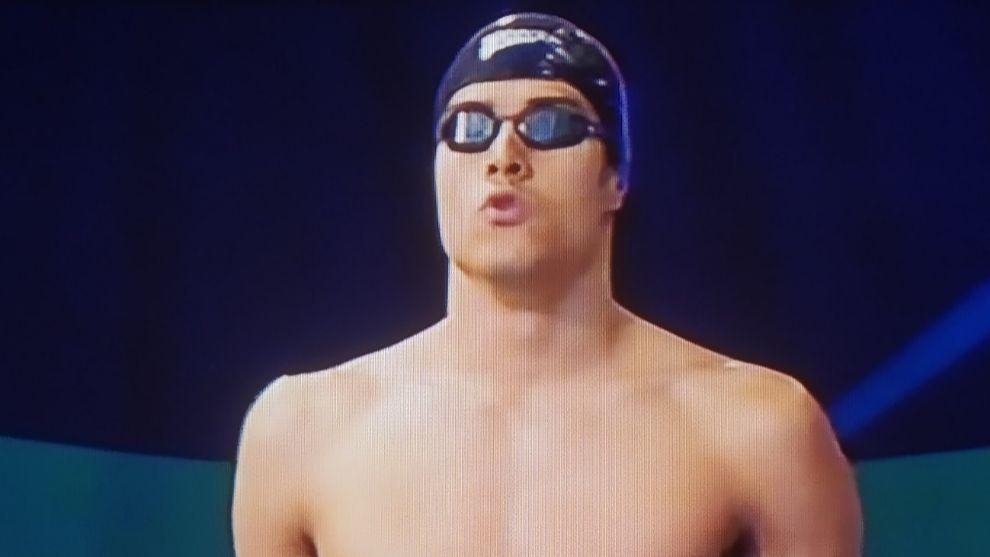Bruno Ortiz-Cañavate, antes de la final.