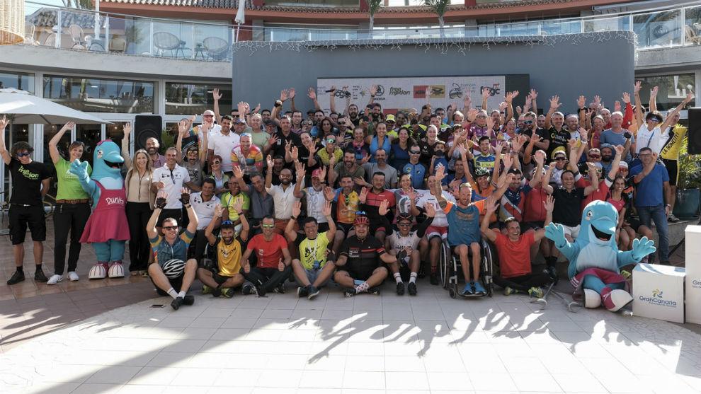 La foto final de los participantes.