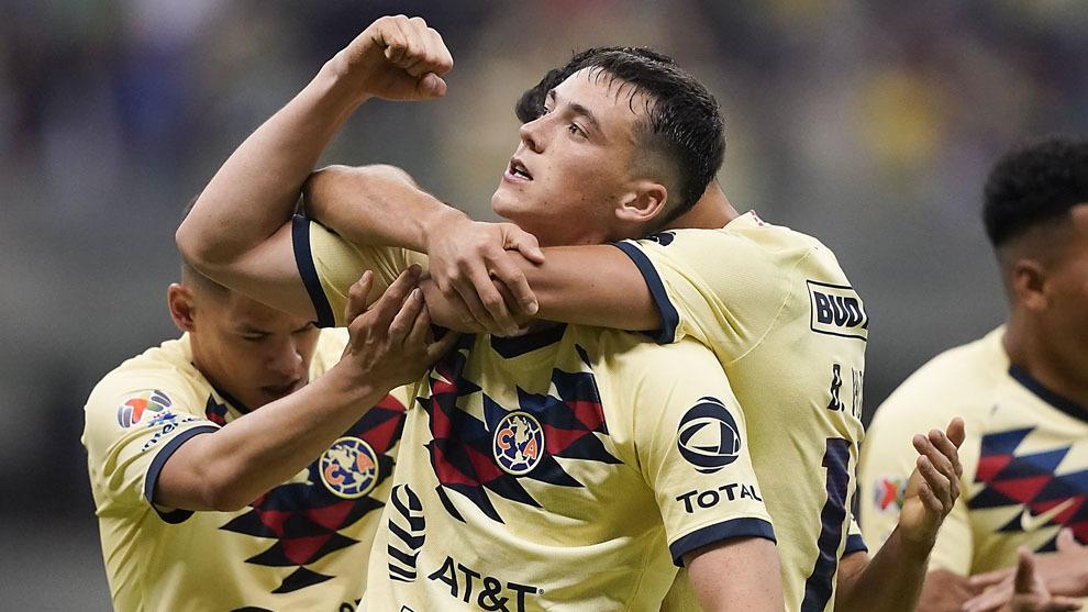 Federico Viñas anotó el gol definitivo