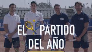 Joaquín y Ferrero contra Bartra y Ferrer