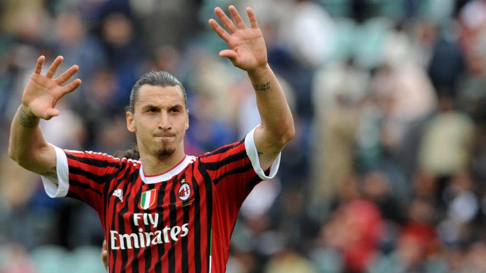 Ibrahimovic, en el Milan.
