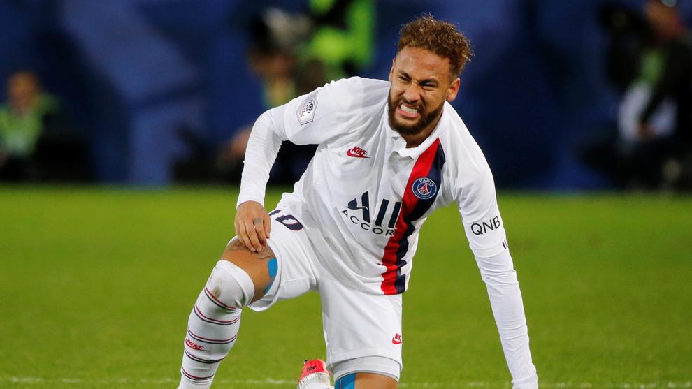Neymar ha tenido una complicada estadía en el PSG.