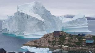 Groenlandia pierde hielo siete veces más rápido que en la década de...