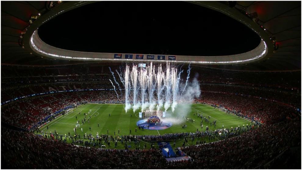 Final de la Champions entre Liverpool y Totenham en el Metropolitano