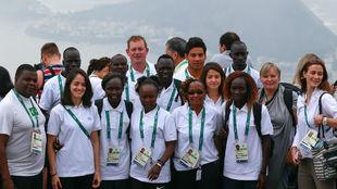 El Movimiento Olímpico promete apoyo a refugiados