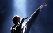 Kanye West cerró las exhibiciones musicales del Art Basel con su...