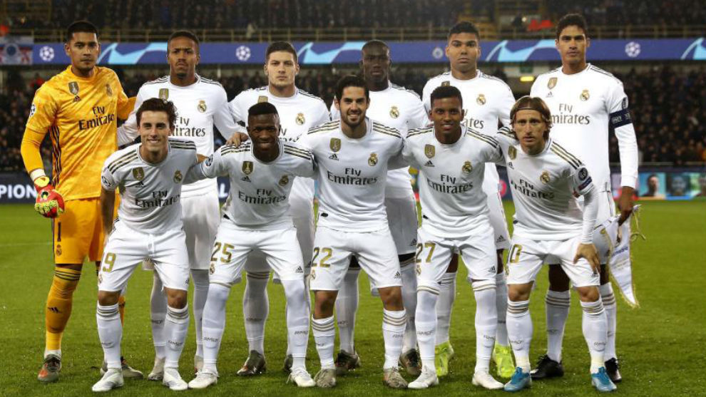 Champions League J.6. Club Brugge KV - Real Madrid 15760956870172
