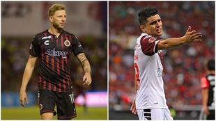Cristian Menéndez y Arturo Paganoni podrían emigrar al Puebla.