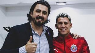 Amaury Vergara y Cristian Calderón.