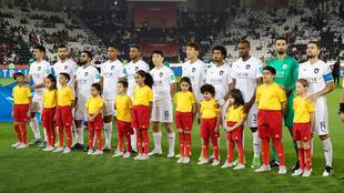 El conjunto catarí, ante de su duelo en el Mundial de Clubes.