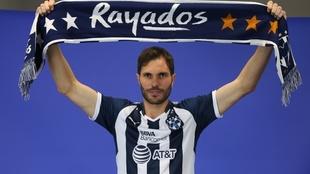 José María Basanta, jugador del Monterrey.