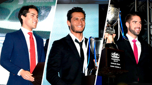 Salvador de Alba, Irwin Vencer y Rubén García Jr. recibieron sus...
