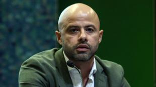 Dante Elizalde, presidente de Santos