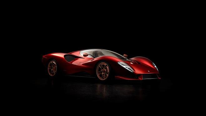De Tomaso P72, el superdeportivo de 750.000 dólares.
