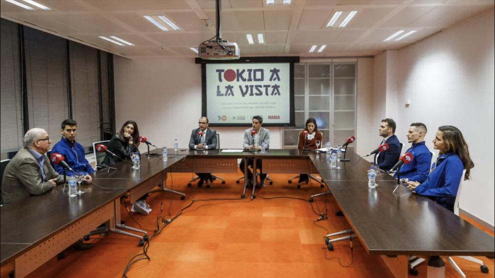 Un momento del coloquio celebrado en Unidad Editorial.