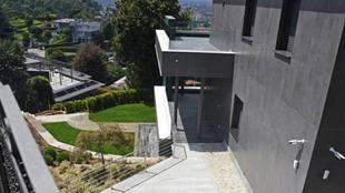 Imagen de la casa de Cristiano Ronaldo en Turín