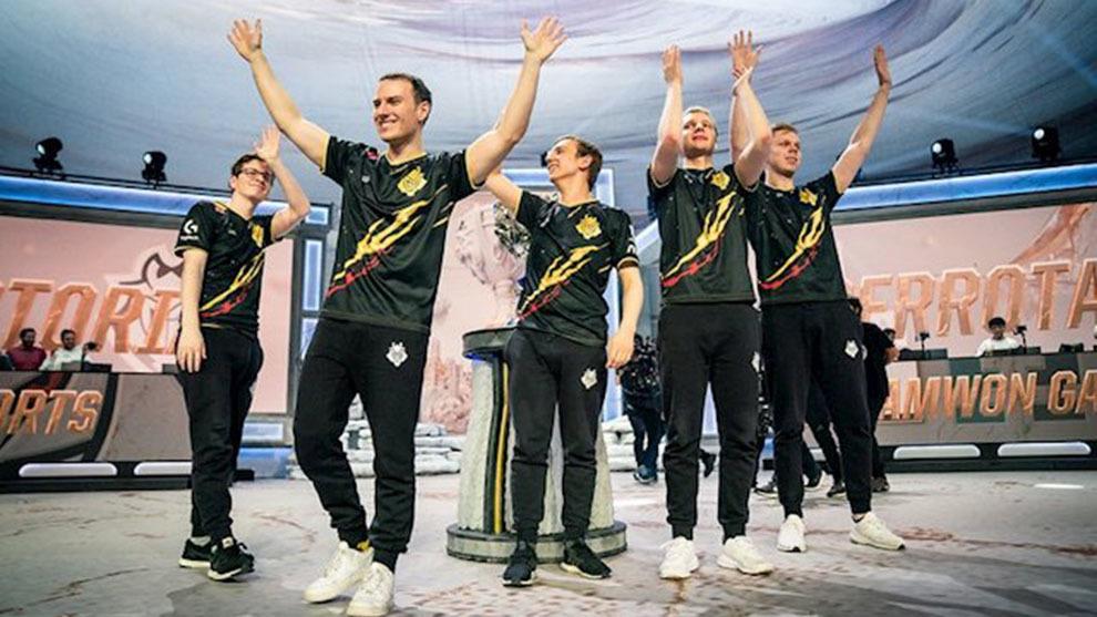 G2 llegó hasta la final mundial de League of Legends