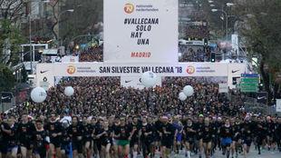 Miles de corredores toman la salida en la edición del pasado año