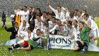 Zidane y Celades entre la plantilla que levantó La Novena en el...