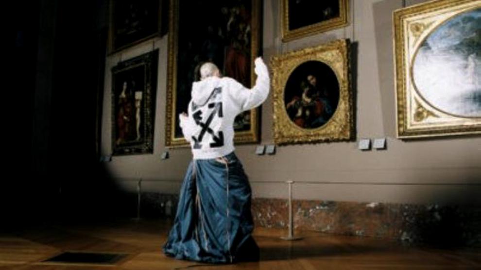 La colección se podrá comprar en el Louvre, en Off-White y en el...