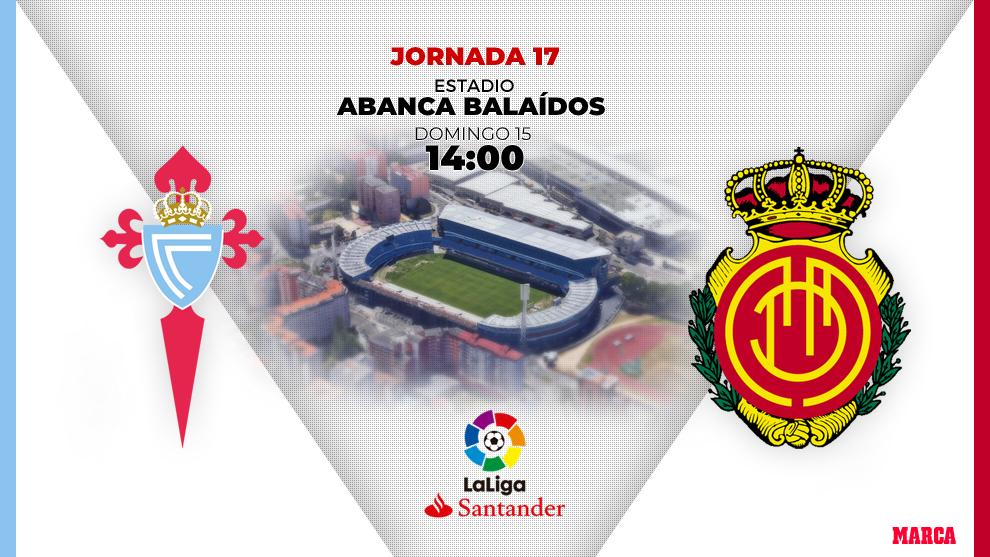 Celta - Mallorca: horario y dónde ver en television el partido de...