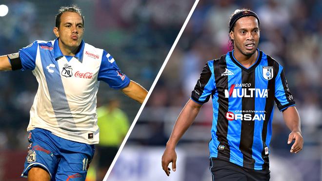 Cuauhtémoc vs Ronaldinho, saldo favorable para el Gobernador de...