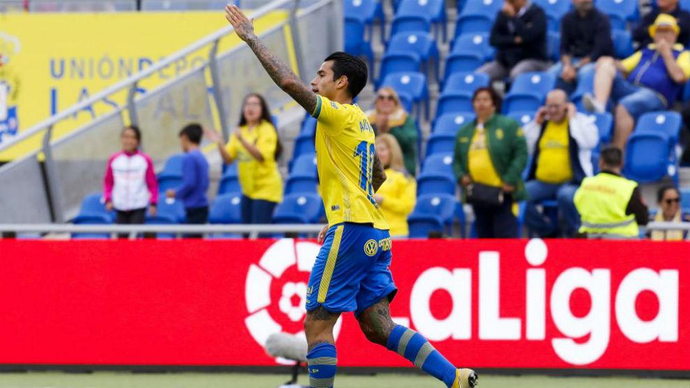 Sergio Araujo, en un partido de la pasada temporada.