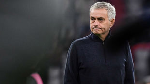 Mourinho, en el Tottenham.