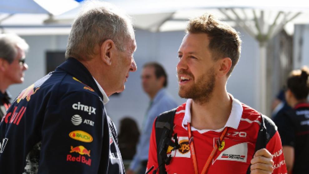 "Marko: ""Vettel se va de Ferrari porque no ve potencial para ser campeón"""