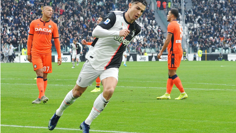 Cristiano Ronaldo makes history as Juventus go top - European round-up
