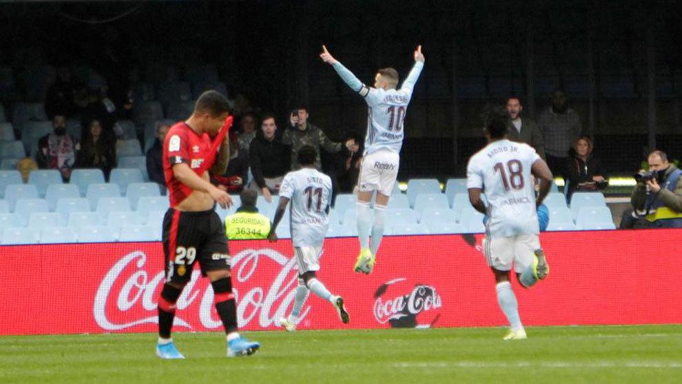 Celta: Primer gol de Iago Aspas al Mallorca | Marca.com