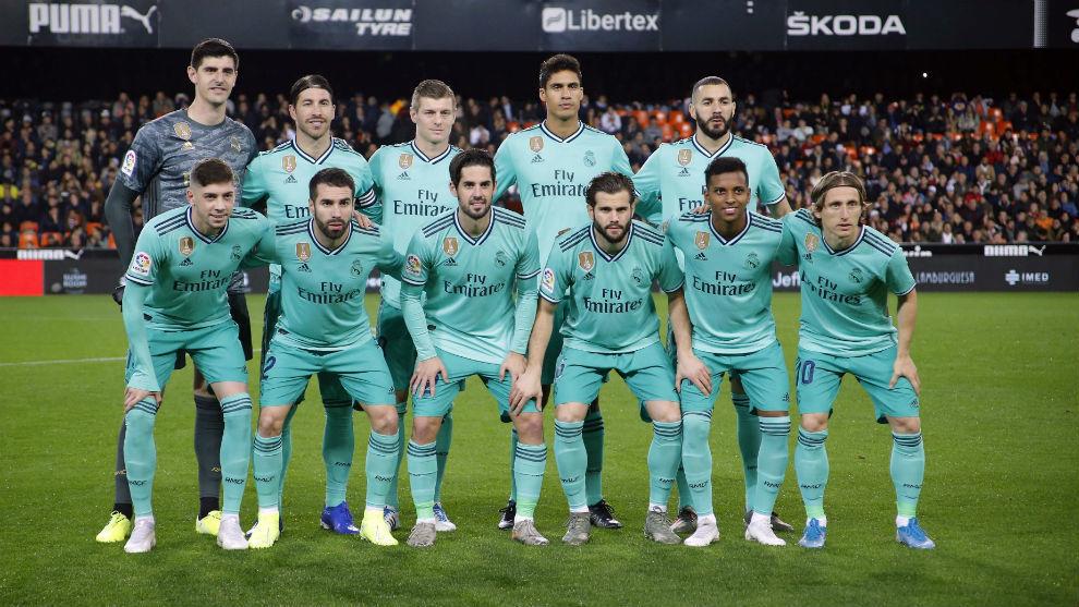 Valencia vs Real Madrid: Real Madrid ratings vs Valencia