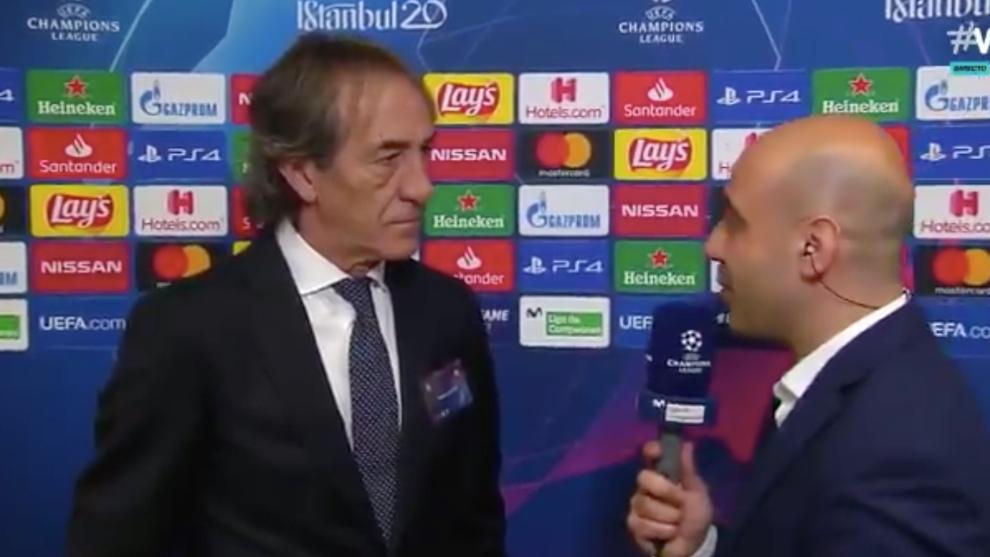 Ricardo Arias fue el encargado de analizar el sorteo en Vamos.