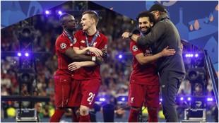 Salah y Mané son dos de las estrellas del Liverpool