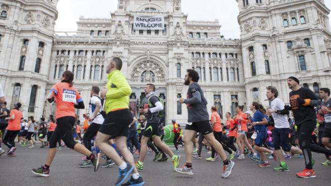 Medio Maratón de Madrid, en foto de archivo