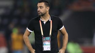 Xavi Hernández, durante el Mundial de Clubes