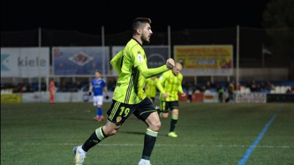 Papunashvili celebra el gol de la victoria.