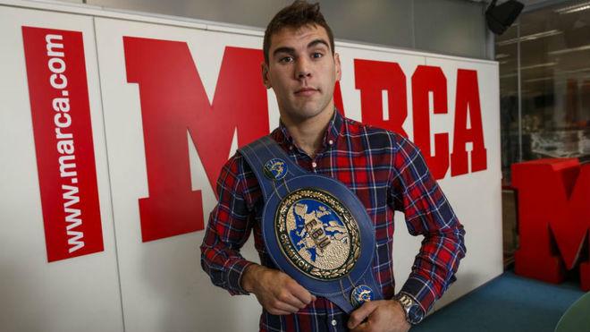 Sergio García pasó por la redacción de MARCA tras lograr su cuarto...